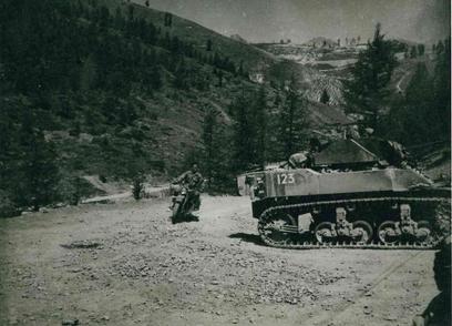 * Etape n° 48 - Alpes Maritimes- 13-18 Avril 1945 - La Secca (BM XI) -  La Dea et la Beole (Légionnaires et Fusiliers Marins) - Maurion (B.M. 21)