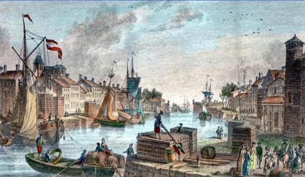 La Baronnie - Saint-Martin au 18ème siècle