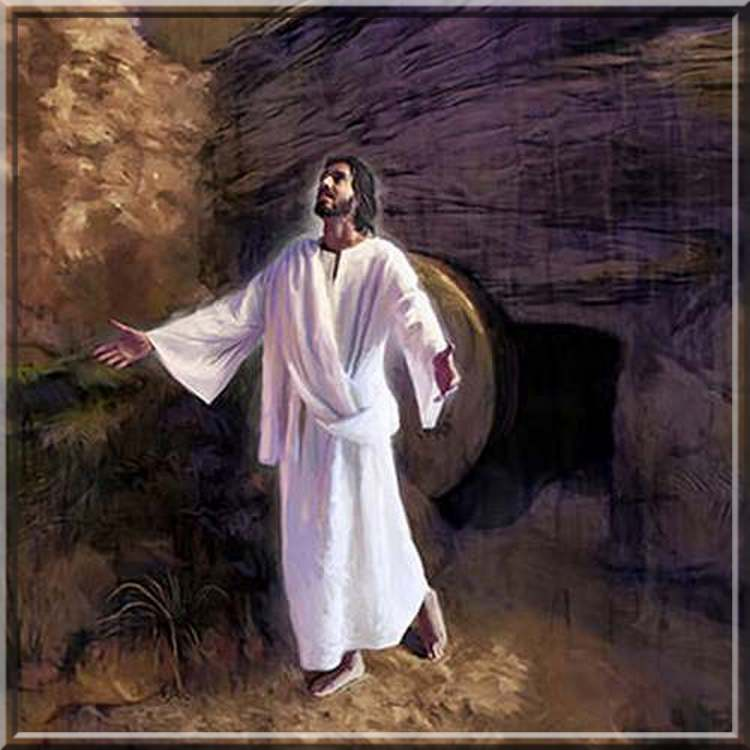 """"""" Pâques """" : Jésus est"""