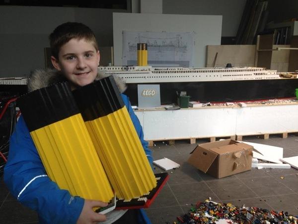La plus grande réplique Lego du Titanic !