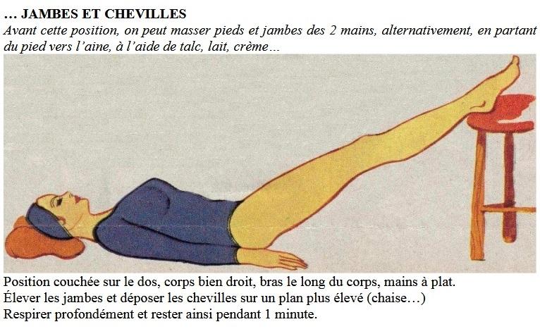 Défatiguer jambes-chevilles (pdf exercices... se détendre p.12)