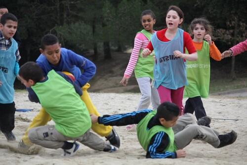 Course d'orientation et rugby du mardi 25 février 2014