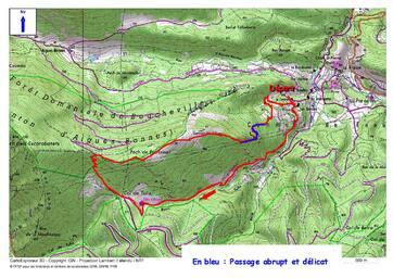 Le Tour de la Pelade (1.173 m) depuis Fenouillet (La Coume) 502 m.