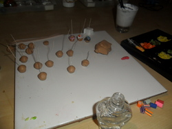 Cupcakes en folie : Work in progress