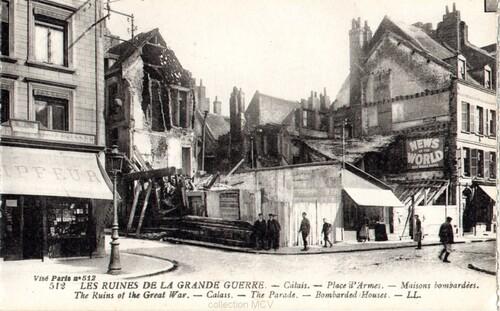 Ruines de la grande guerre