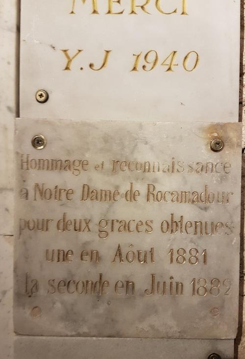 C'est aussi l'histoire de Rocamadour...