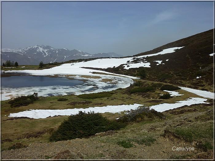 Dans les Hautes-Pyrénées : 2 - le lac de Soum