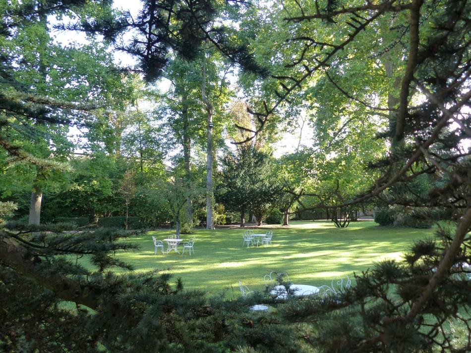 Le parc de l'hôtel préfectoral de la Somme
