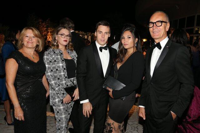 Stephanie de Monaco et ses enfants