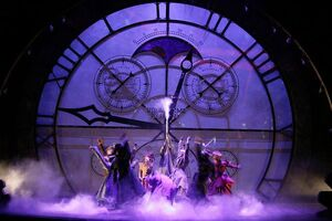 dance ballet times clocks adventure alice in wonderland