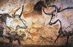 Visite de la grotte de Lascaux...