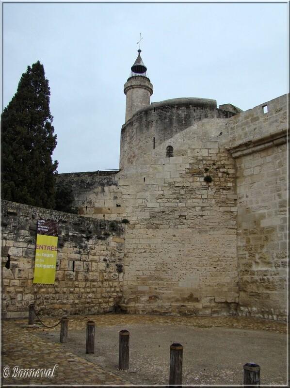 Aigues-Mortes Gard la Tour de Constance ancienne tour de guet et fanal 14ème siècle