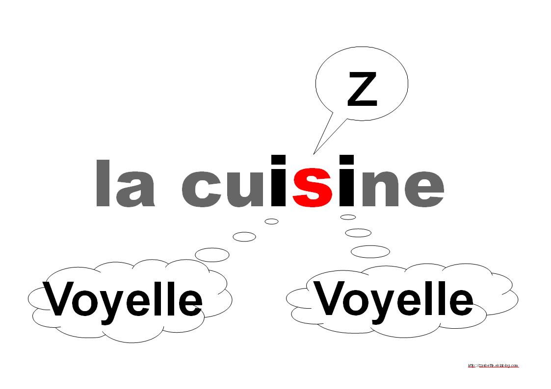 Les valeurs de la lettre S - Zaubette