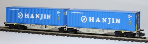 REE Modèles / Mikadotrain : des wagons porte-conteneurs
