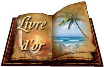 Livre d'Or, un message, un petit mot ... pour faire plaisir