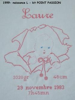 Naissance de Laure
