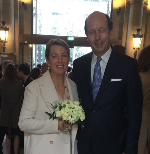Mariage de Louis Giscard d'Estaing