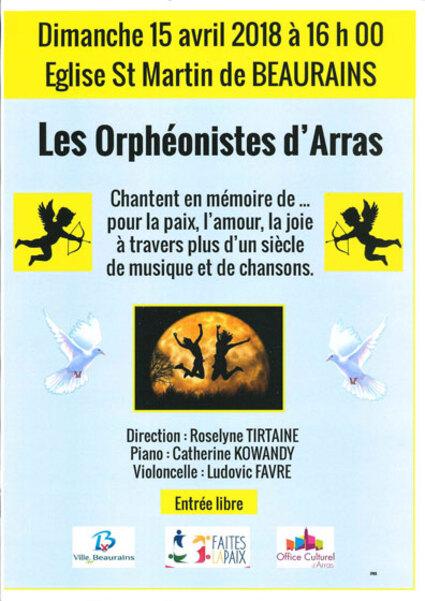 Les loisirs à Arras et ses environs(danse, concert, lecture).