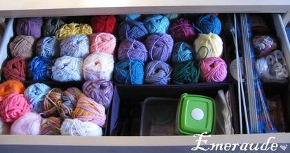 tiroir laines