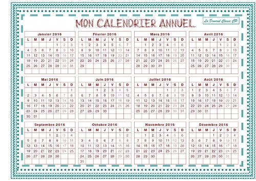 Mon calendrier / Météo de classe