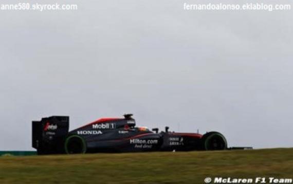 Alonso : Le nouveau moteur Honda n'est qu'un dixième plus rapide