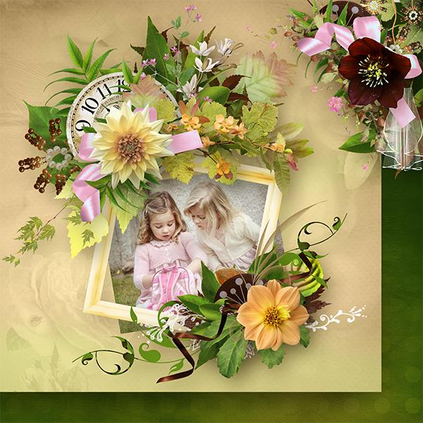 Floralia de ElyScrap