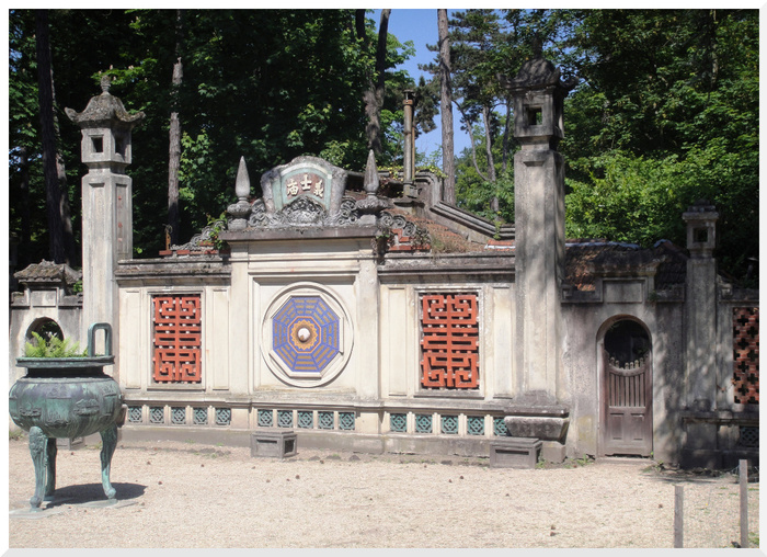 Jardin Tropical de Vincennes.