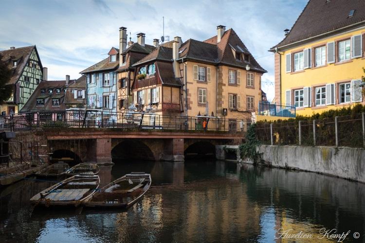 Colmar : La Petite Venise au pont Turenne