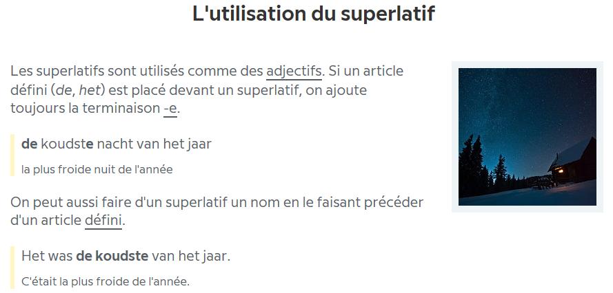 NL Grammaire