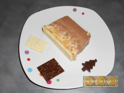"Ma buche de Noël "" Chocotique """