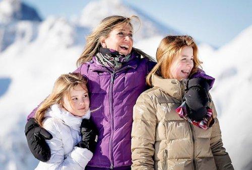 Lech : ski pour la famille royale des Pays Bas