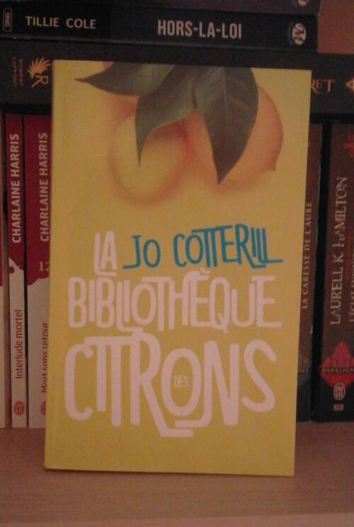 Cotterill Jo - La bibliothèque des citrons