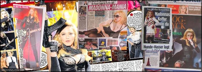 Madonna - MDNA Tour Press
