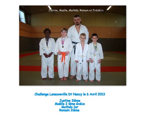 Challenge Laneuveville Dt Nancy Poussins et Mini-Poussins
