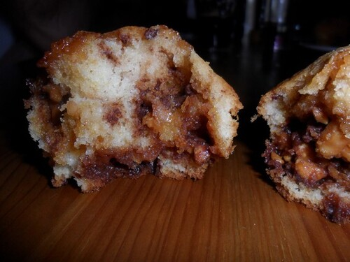 *** Muffins aux Snickers ***