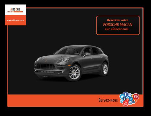 Location Porsche Macan S au Maroc
