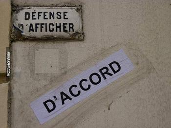 defense dafficher