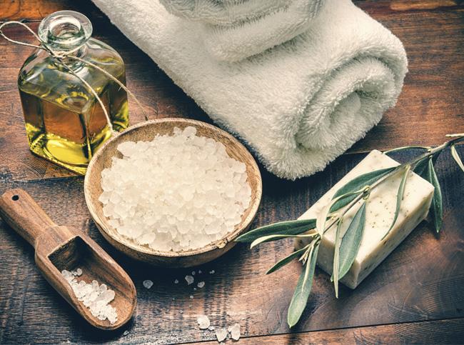 Скраб из соли и соды от целлюлита