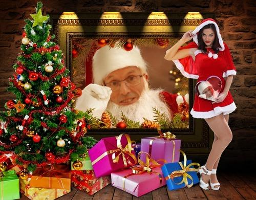 - La satgiaire du Père Noel.