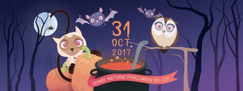 Wolu1200 : Nocturne spéciale Halloween chez CatRescue