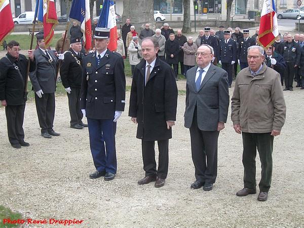 La commémoration du cessez-le feu en Algérie à Châtillon sur Seine, vue par René Drappier