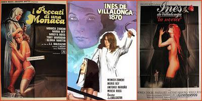 Inés de Villalonga 1870 / I peccati di una monaca. 1979.