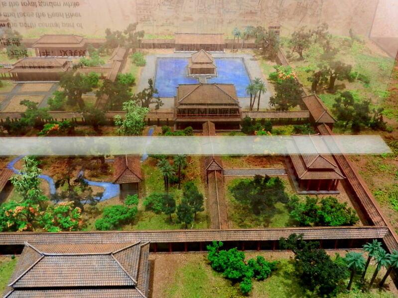 A GUANGZHOU VESTIGES HISTORIQUES _La tombe de l'empereur Zhao Mo