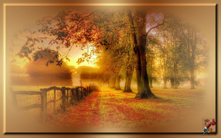 AUT0020 - Tube paysage d'automne