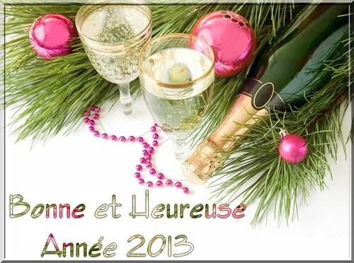 Bonne année ? Nooon, Excellente Année 2ol3 !!!