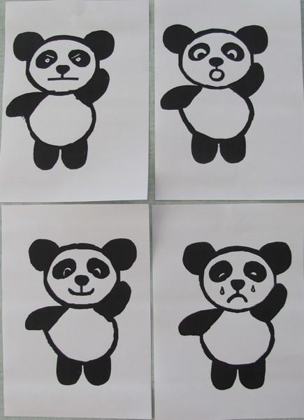 panda émotions
