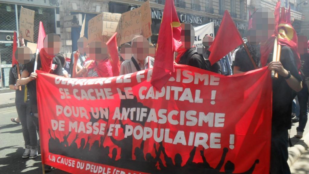 "Le marchepied du fascisme en fRance s'appelle ""unité nationale"""