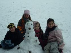 concours de bonhomme  de neige