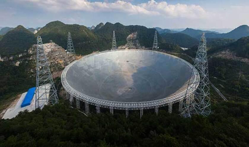 La Chine va entrer en contact avec la VIE EXTRATERRESTRE...