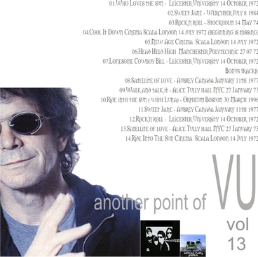 Cover me # 13: Another Point of VU Vol 13: Completely Loaded!